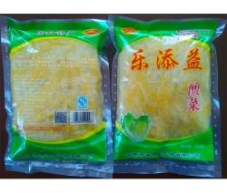 广州乐添益酸菜丝装